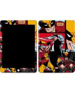 Wolverine Comic Collage Apple iPad Skin