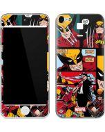 Wolverine Comic Collage Apple iPod Skin