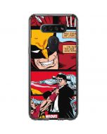 Wolverine Comic Collage LG K51/Q51 Clear Case