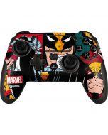 Wolverine Comic Collage PlayStation Scuf Vantage 2 Controller Skin