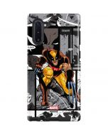 Wolverine Comic Strip Galaxy Note 10 Pro Case