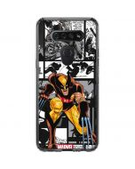 Wolverine Comic Strip LG K51/Q51 Clear Case