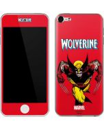 Wolverine Ready For Action Apple iPod Skin
