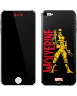 Wolverine Suited Up Apple iPod Skin