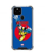Wolverine Weapon X Google Pixel 5 Clear Case