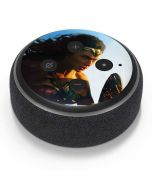 Wonder Woman Action Shot Amazon Echo Dot Skin