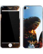 Wonder Woman Action Shot Apple iPod Skin