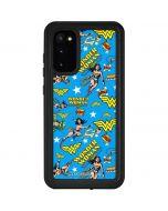Wonder Woman Blast Galaxy S20 Waterproof Case