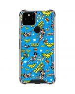 Wonder Woman Blast Google Pixel 5 Clear Case