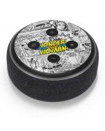 Wonder Woman Comic Amazon Echo Dot Skin