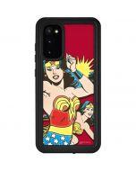 Wonder Woman in Action Galaxy S20 Waterproof Case