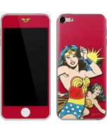 Wonder Woman in Action Apple iPod Skin