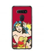 Wonder Woman in Action LG K51/Q51 Clear Case