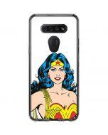Wonder Woman LG K51/Q51 Clear Case