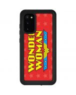Wonder Woman Logo Galaxy S20 Waterproof Case