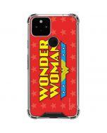 Wonder Woman Logo Google Pixel 5 Clear Case