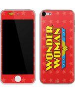 Wonder Woman Logo Apple iPod Skin