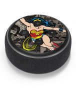 Wonder Woman Mixed Media Amazon Echo Dot Skin
