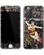 Wonder Woman Mixed Media Apple iPod Skin