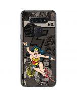 Wonder Woman Mixed Media LG K51/Q51 Clear Case