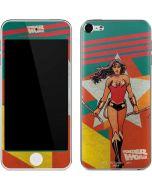 Wonder Woman Multi Color Apple iPod Skin