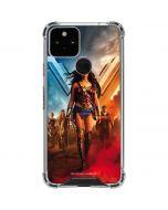 Wonder Woman Unconquerable Warrior Google Pixel 5 Clear Case