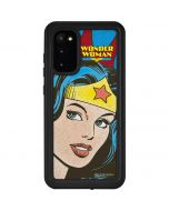 Wonder Woman Vintage Profile Galaxy S20 Waterproof Case