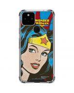 Wonder Woman Vintage Profile Google Pixel 5 Clear Case