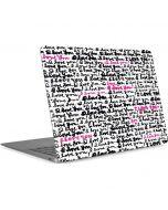 Written Love Apple MacBook Air Skin