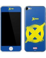 X-Men Logo Yellow Apple iPod Skin