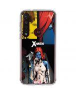 X-Men Mystique Moto G8 Plus Clear Case