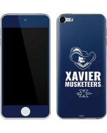 Xavier Musketeers Mascot Blue Apple iPod Skin