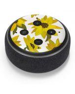 Sunflower Acrylic Amazon Echo Dot Skin
