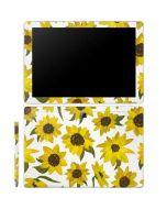 Sunflower Acrylic Galaxy Book 12in Skin