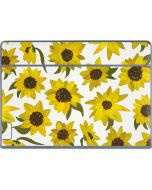 Sunflower Acrylic Galaxy Book Keyboard Folio 12in Skin