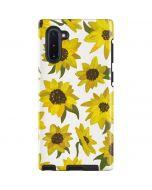 Sunflower Acrylic Galaxy Note 10 Pro Case