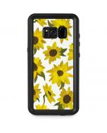 Sunflower Acrylic Galaxy S8 Plus Waterproof Case