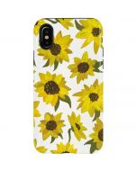 Sunflower Acrylic iPhone X Pro Case
