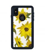 Sunflower Acrylic iPhone XS Waterproof Case