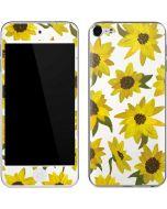 Sunflower Acrylic Apple iPod Skin