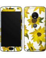Sunflower Acrylic Moto G5 Plus Skin