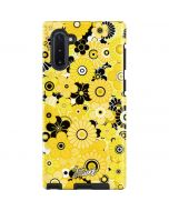 Yellow Flowerbed Galaxy Note 10 Pro Case