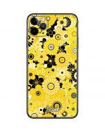 Yellow Flowerbed iPhone 11 Pro Max Skin