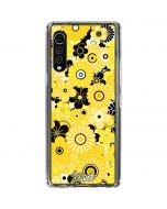 Yellow Flowerbed LG Velvet Clear Case