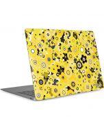 Yellow Flowerbed Apple MacBook Air Skin