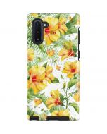Yellow Hibiscus Galaxy Note 10 Pro Case