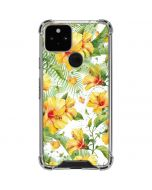 Yellow Hibiscus Google Pixel 5 Clear Case
