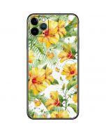 Yellow Hibiscus iPhone 11 Pro Max Skin
