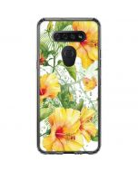 Yellow Hibiscus LG K51/Q51 Clear Case