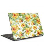 Yellow Hibiscus Dell XPS Skin